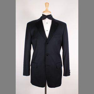 Calvin Klein 38R Black Tuxedo Jacket B014